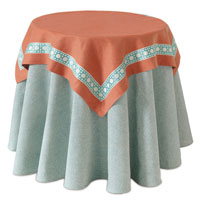 BREEZE TANGERINE TABLE SQUARE
