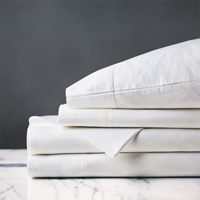 GIANNA WHITE SHEET SET