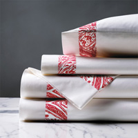 Adelle Percale Sheet Set In Sorbet