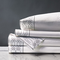 NICOLA GREY KING SHEET SET