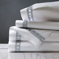CELINE SILVER KING SHEET SET