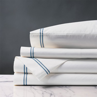 ENZO WHITE/OCEAN KING SHEET SET