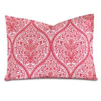 Adelle Percale Standard Sham in Sorbet