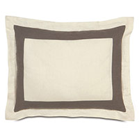 BREEZE PEARL/CLAY STANDARD SHAM