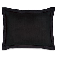 Resort Black Standard Sham