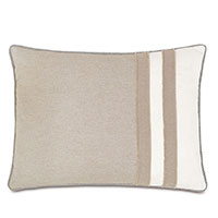 Greer Linen Standard Sham (Right)