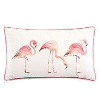 Sumba Hand-Painted Flamingos