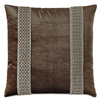 Silvio Beaded Decorative Pillow