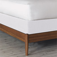 Essex White Box Spring Cover