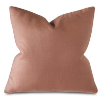 Castle Linen Decorative Pillow in Rose