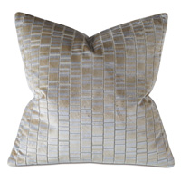 Artemis Cut-velvet Decorative Pillow