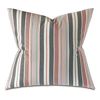 CHILMARK STRIPED DECORATIVE PILLOW