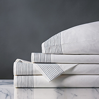 MARSDEN SHEET SET IN NAVY
