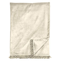 LUCERNE IVORY THROW