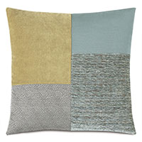 ZEPHYR GRID DECORATIVE PILLOW