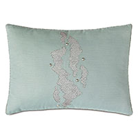 ZEPHYR NAILHEAD DECORATIVE PILLOW