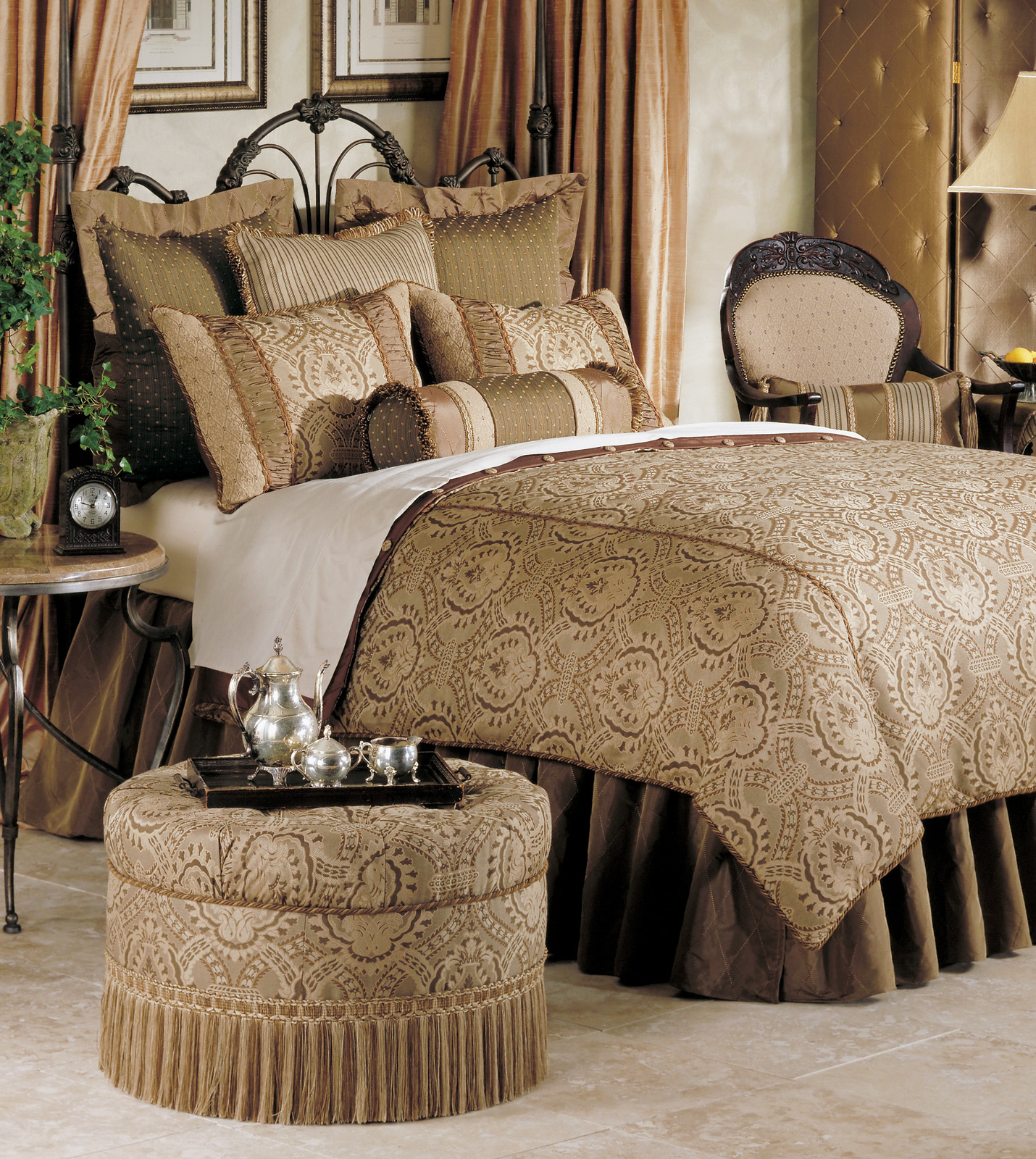 Luxury Bedding by Eastern Accents - Nottingham Collection