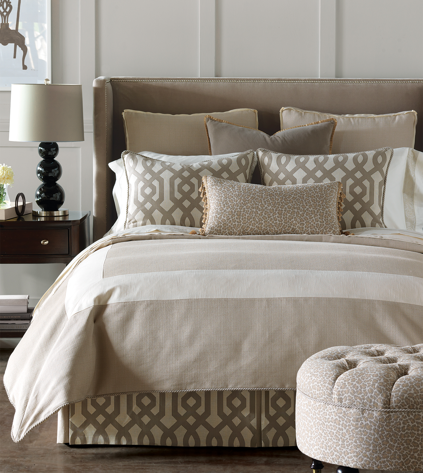Luxury bedding by eastern accents rayland collection for Bedding ideas 2016