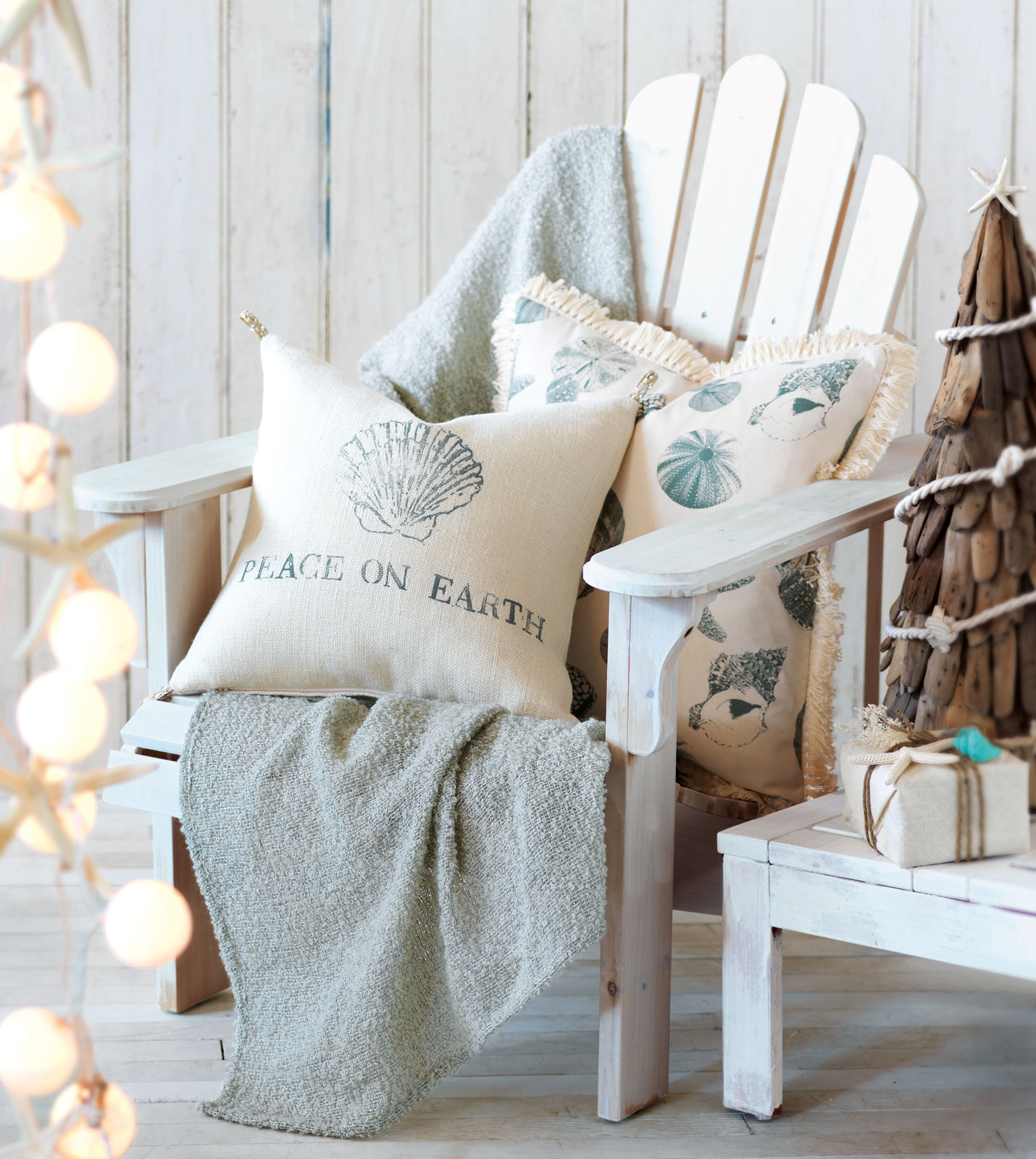 Christmas Decorations For The Beach House : Ea holiday luxury home decor by eastern accents coastal