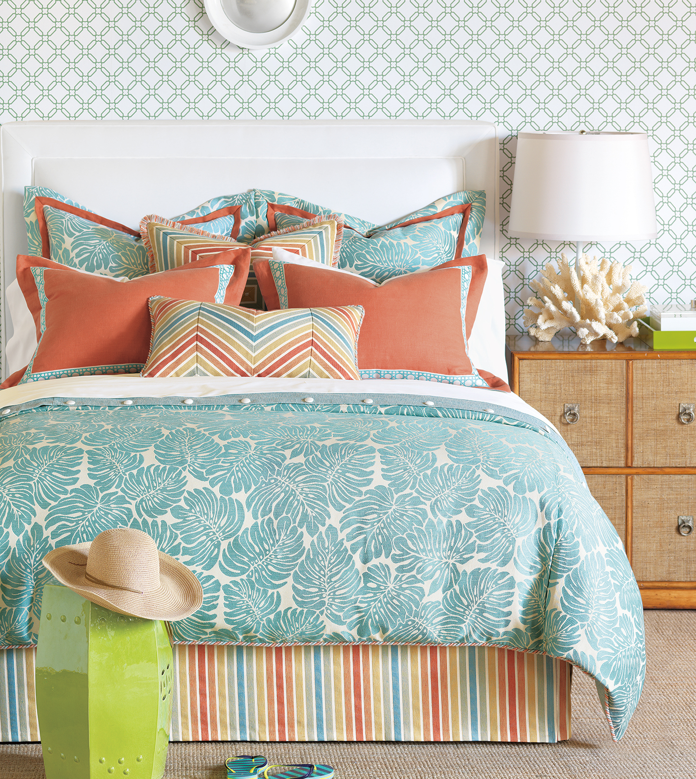 Luxury Bedding By Eastern Accents Capri Collection