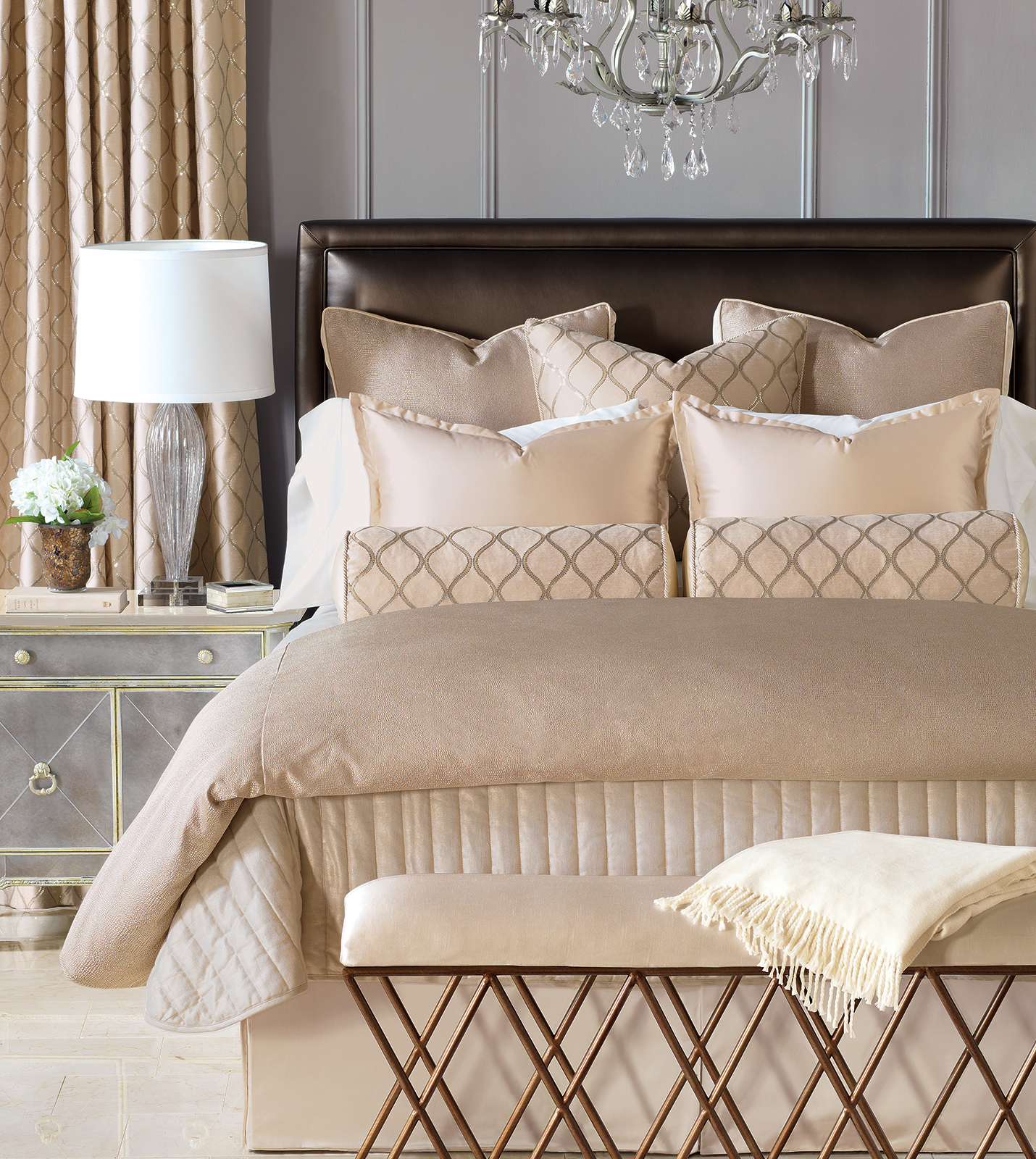 Luxury bedding by eastern accents bardot collection
