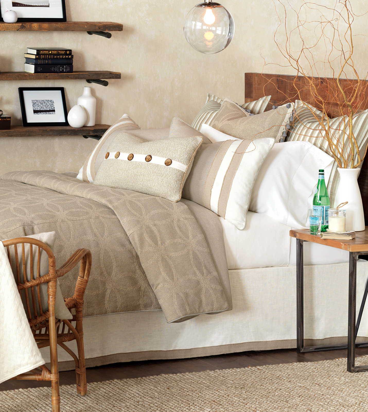 Luxury Bedding By Eastern Accents Silas Collection
