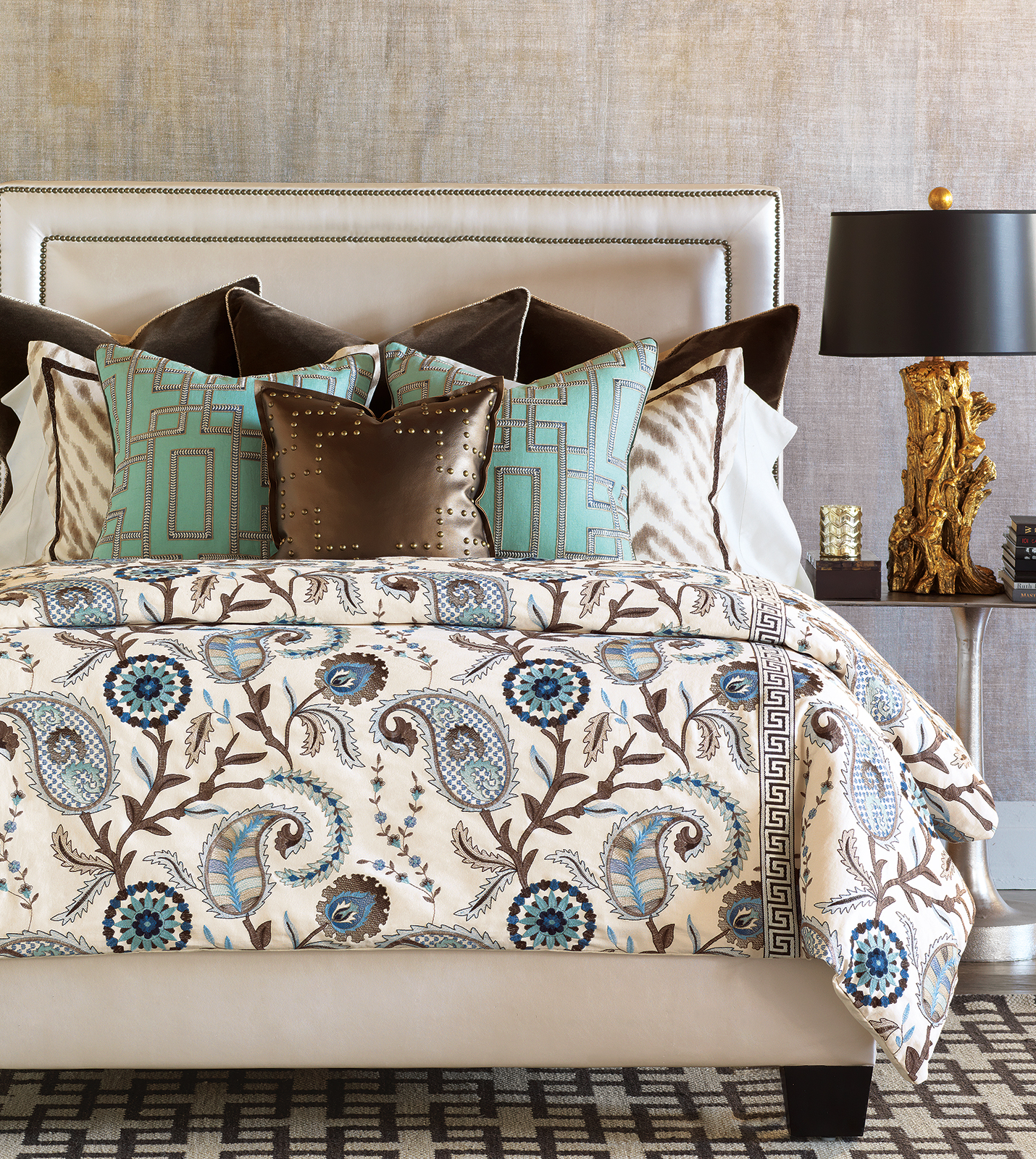 Barclay butera luxury bedding by eastern accents hudson collection