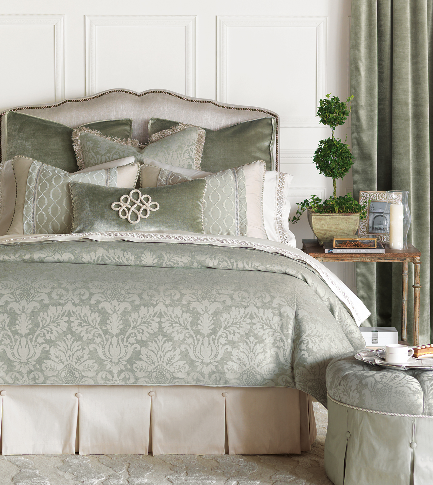 Luxury Bedding By Eastern Accents Lourde Collection
