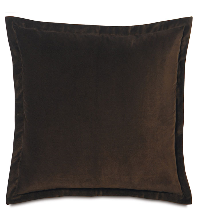 Luxury Bedding By Eastern Accents Jackson Brown Euro Sham