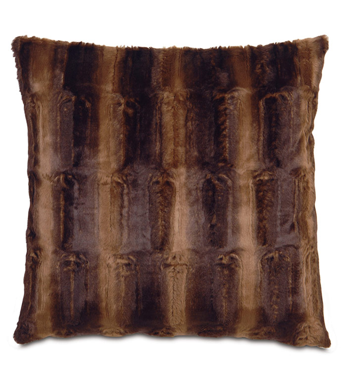 Karina Chocolate Accent Pillow A