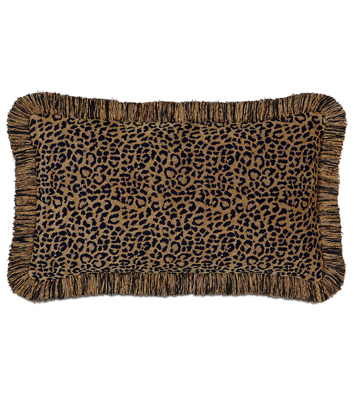 CONGO BLACK & GOLD PILLOW B - ,