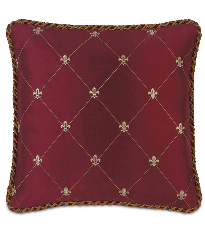 COUTURE PILLOW G (RAINIER SCARLET)