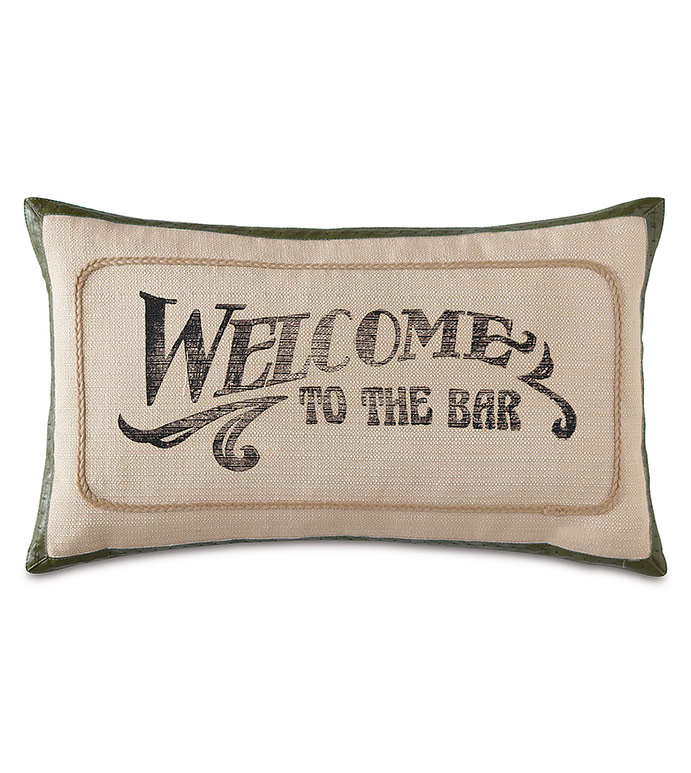 Welcome to the Bar