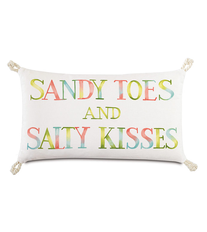 Sandy toes and salty kisses - ,