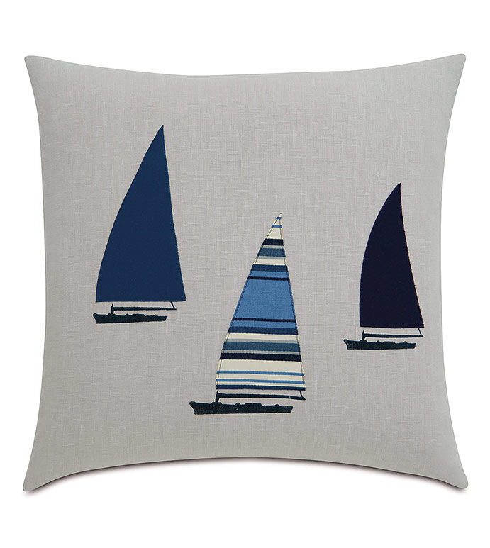 Three Sailboats - ,