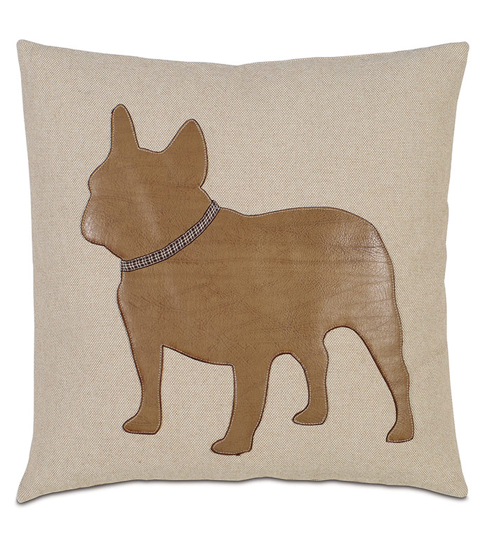 Frenchie - , FRENCH BULLDOG, FRENCH BULLDOG PILLOW, FRENCHIE PILLOW, FRENCH BULLDOG ACCENT PILLOW, FRENCHIE ACCESSORY