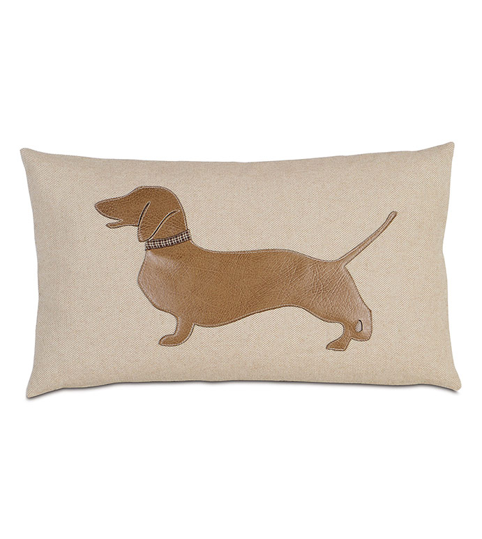 Dash - , DACHSHUND, DACHSHUND PILLOW, DACHSHUND DOG PILLOW