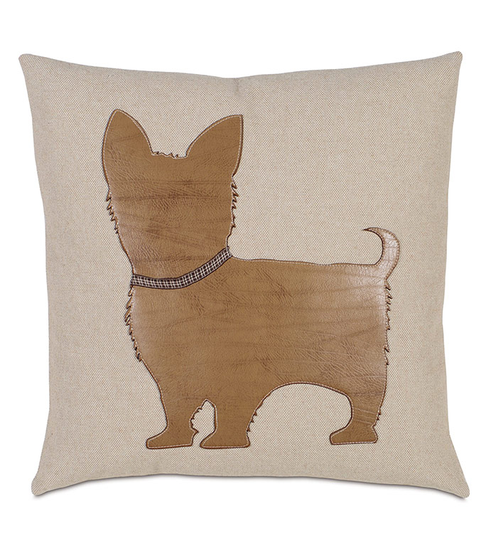 Mini - , YORKIE PILLOW, YORKIE HOME ACCENTS, YORKIE DOG PILLOW