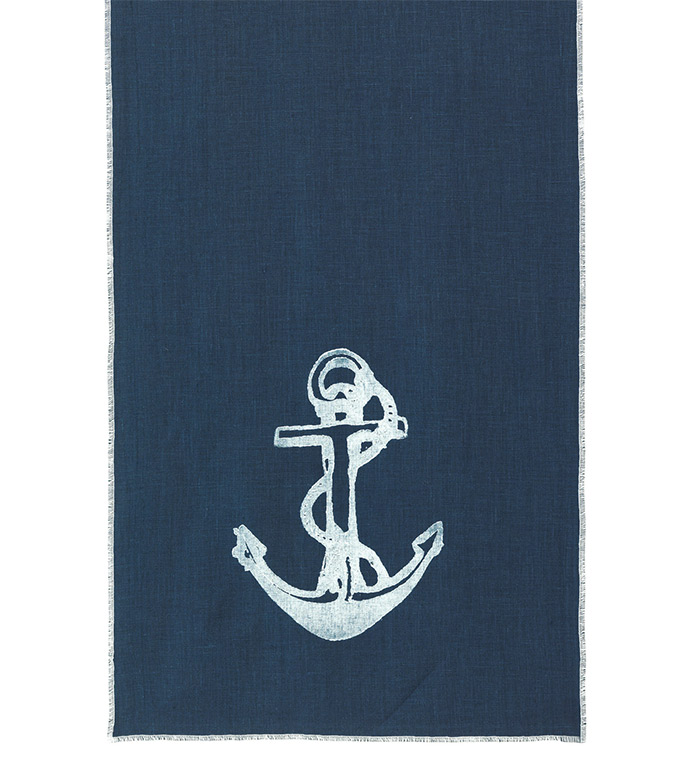 White Anchor Runner