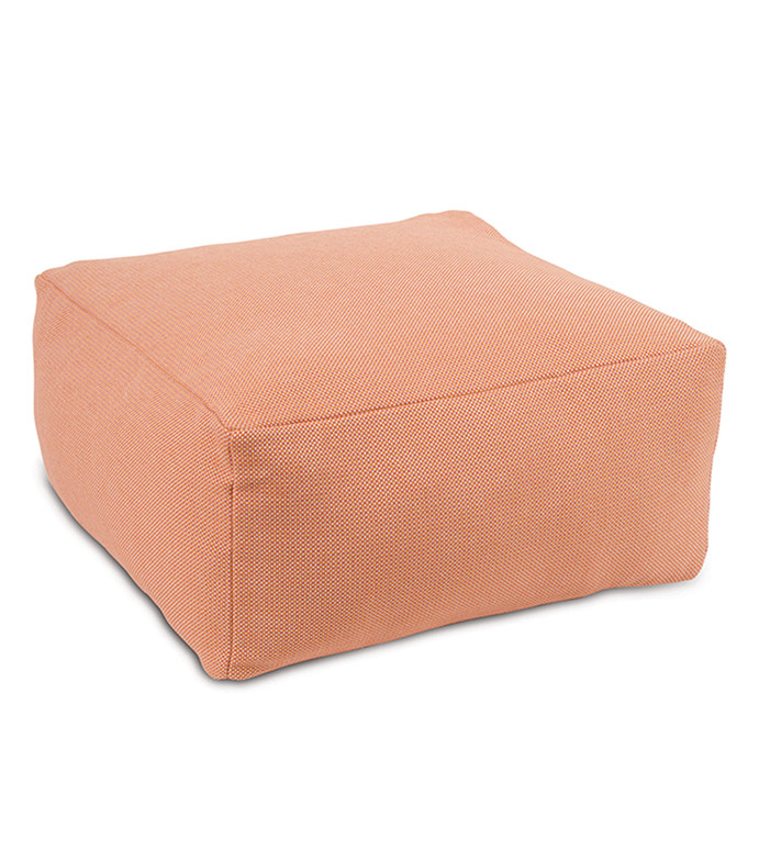Harris Grapefruit Pouf
