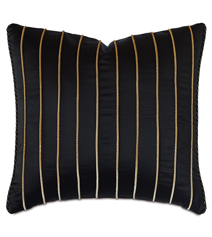 PARK AVENUE VERTICAL CORD DECORATIVE PILLOW