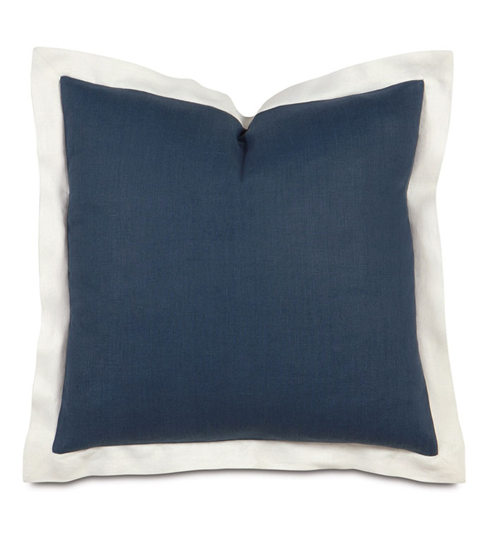 Bel Air Linen Euro Sham in Indigo - ,