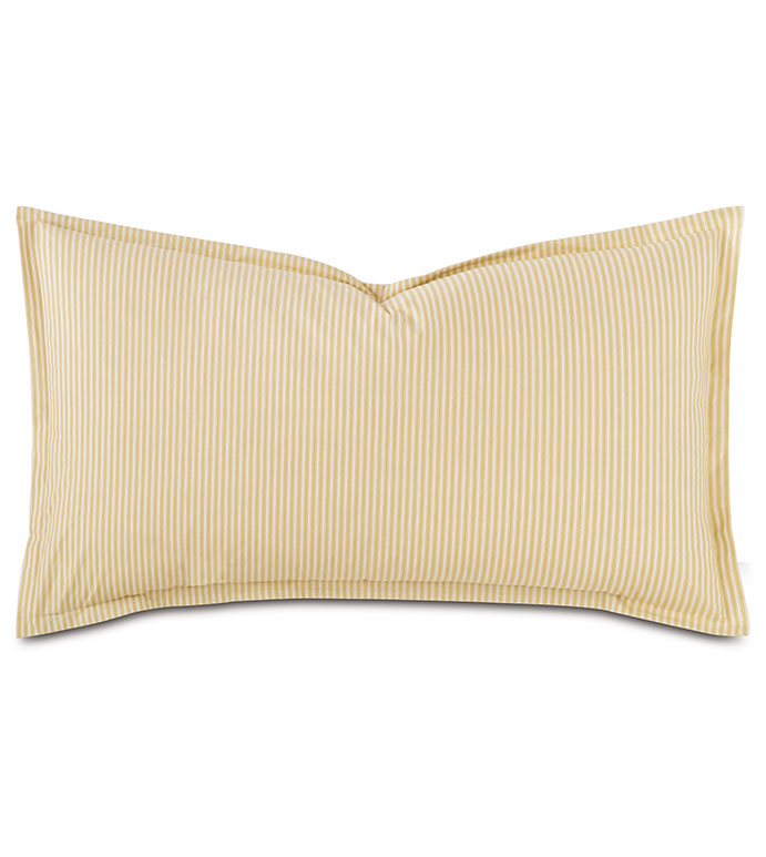 Newman Bisque King Sham - HAMPTON,