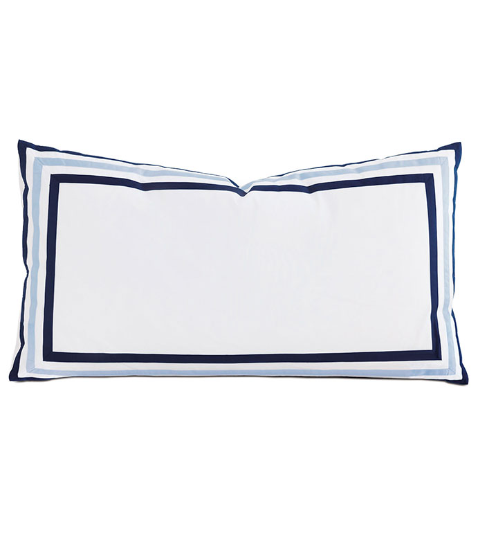 Watermill Indigo King Sham - ,