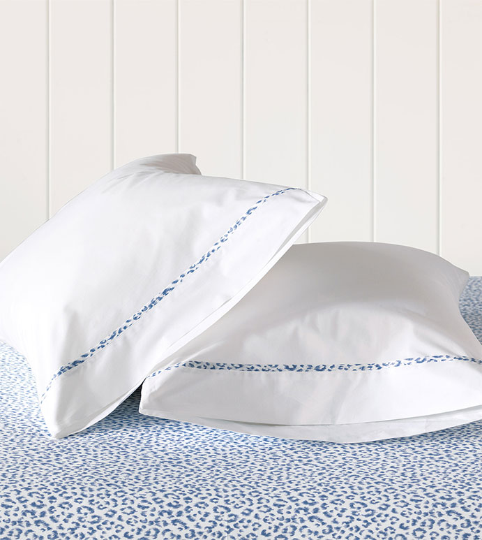 Tanner Indigo Pillowcase - HAMPTON