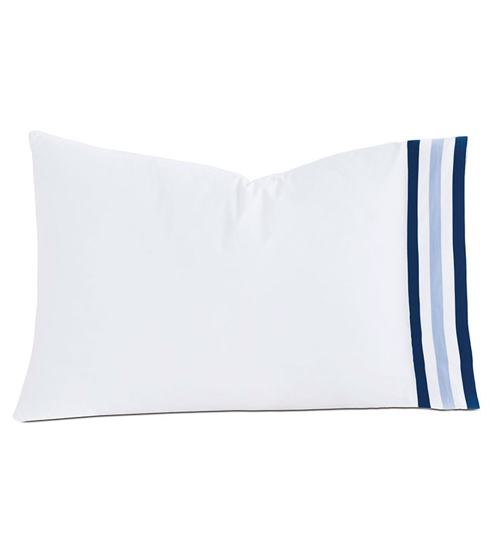 Watermill Indigo Pillowcase