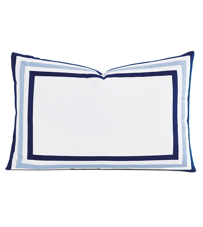 Watermill Indigo Queen Sham - ,