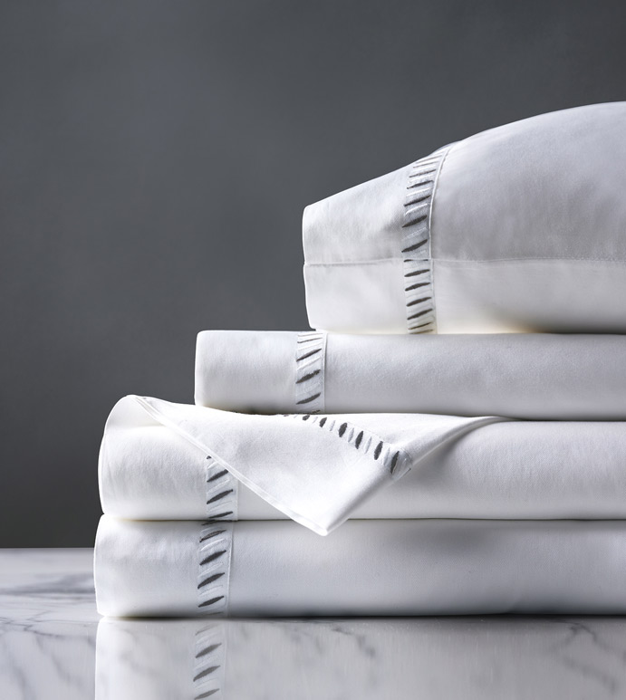 Ona Charcoal Sheet Set