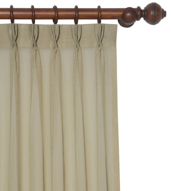 PALAPA CELERY CURTAIN PANEL