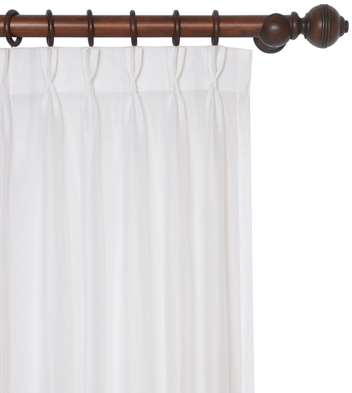 SADLER WHITE CURTAIN PANEL